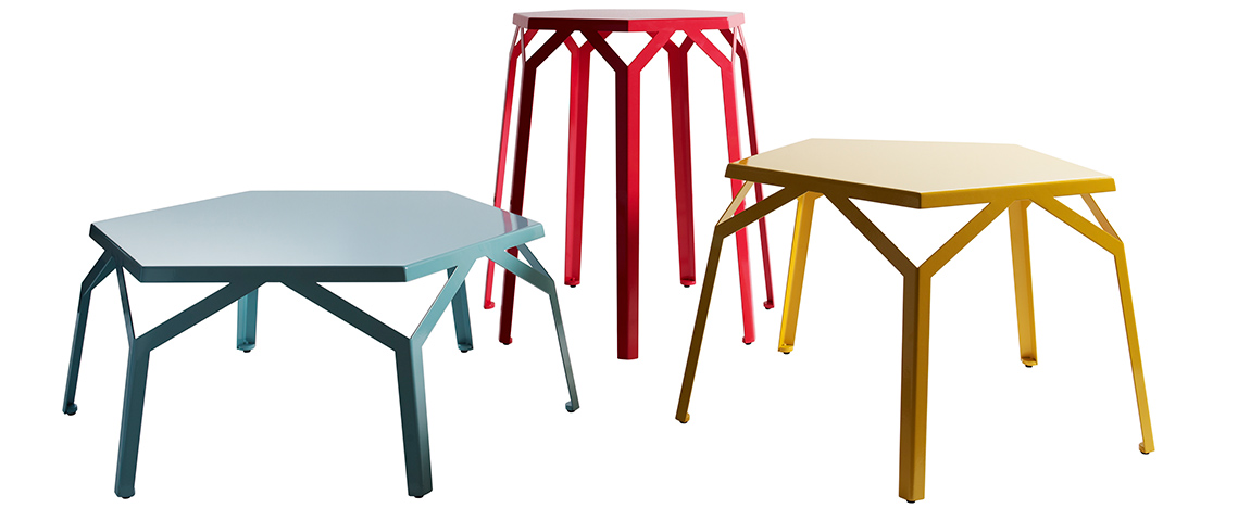 tables stools iron